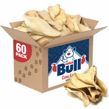 ValueBull Premium Cow Ears Large 120 Count