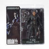 "NECA Terminator 2 Judgement Day T-800 Steel Mill 7"" Action Figure"