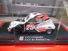 Citroen 2cv 2 CV CANARD RACING CUP #25 auto plus ALTAYA S-PRIX 1:43