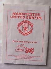 59979 Instruction Booklet - Manchester United Europe - Commodore Amiga (1993)