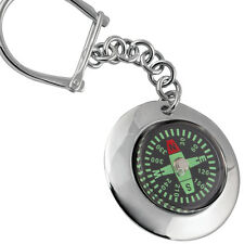 COMPASS KEY RING STERLING SILVER 925 HALLMARKED NEW FROM ARI D NORMAN