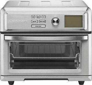 Cuisinart - Digital Air Fryer Toaster Oven - Stainless Steel