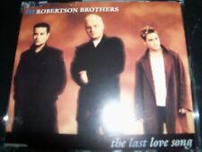 The Robertson Brothers The Last Love Song Rare Australian CD Single - Like New