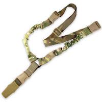 Bulldog CQB Bungee Tactical Military Airsoft Rifle Gun Weapon Sling MTP MTC Camo