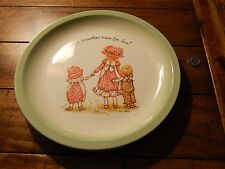"Holly Hobbie - ""Mother is Another Name For Love"" - Collector's Plates + Candle"