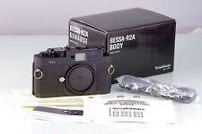 Voigtlander Bessa R2A Noir pour Leica M Fixation Nouveau Boxed Never Used Stock