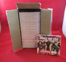 NEW LOT OF 23 CD'S: CD LOT- DANCE MIX USA BY LOUIE DEVITO(KESHA, LADY GAGA,ETC)