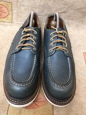 Rare Red Wing Heritage #8100 Work Oxford Indigo Portage  8102 8106 8109 Sz 9.5 D