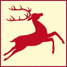 REINDEER 2 STENCIL, CHRISTMAS, ANIMAL STENCILS -The Artful Stencil