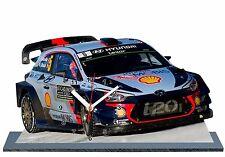 NEUVILLE, Rallye Monte Carlo 2017,Hyundai i20 WRC, en horloge miniature 06