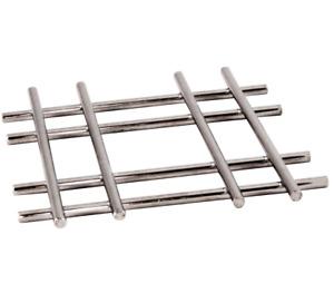 2 x Trivet Stainless Steel Kitchen Hot Pan Pot Stand Holder-20x20cm cross design