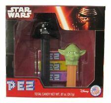 Disney Star Wars Episode VII The Force Awakens Pez Dispensers Yoda -Darth Vader