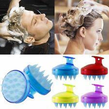 Comfortable Spa Slimming Massage Brush Silicone Shampoo Scalp Massage Brush Hair