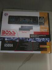 Boss 650UA (R.B) CD/MP3 USB/AUX/SD CARD Player In Dash Receiver Car Stereo Radio