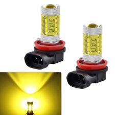 2PCS H16 H11 H8 LED Fog Light Bulb For Ford Explorer Focus Fusion Mustang 05-17