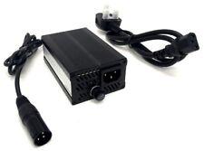 Silla De Ruedas SCOOTER Movilidad 24v 5A Batería 3-Pin XLR fuente de alimentación/Cargador Reino Unido