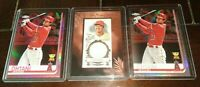 27 Shohei Ohtani RC Topps Chrome Refractor Allen Ginter Jersey Heritage Archives