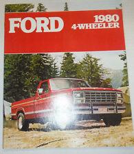 Ford Magazine 1980 4 Wheeler 122614R