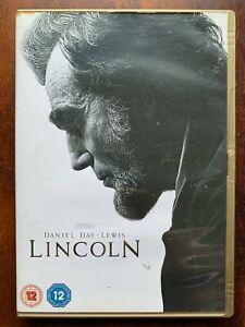 Lincoln DVD 2012 Spielberg President Abraham Biopic Movie w/ Daniel Day Lewis