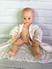 Vintage Cameo MISS PEEP Baby Girl Doll Newborn Jointed Arms Legs Plastic 14in