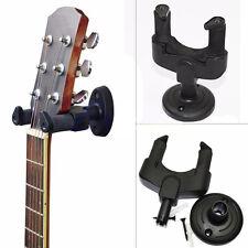Guitar Bass Banjo Violin Mandolin Hanger Hook Holder Wall Mount Display 1Set ##