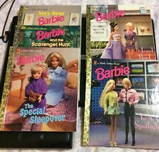 Lots Of 5 Barbie Little Golden Books 1993 1996 1997 1998 1998 GREAT CONDITION