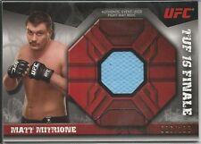 Matt Mitrione 2013 Topps UFC Knockout Fight Mat Relics Card # FMRSC 026/188