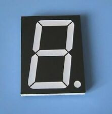 5pcs 2.3 inch 1 digit led display 7 seg segment Common anode 阳 blue