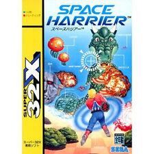 Space Harrier 32X SEGA Mega Drive MD GENESIS Japan