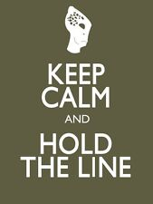 POSTER KEEP CALM AND HOLD THE LINE MASS EFFECT KIRRAE SHEPARD XBOX 360 PS3 FOTO