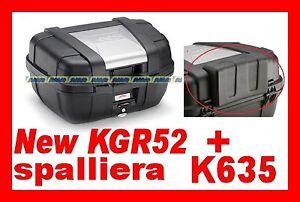 VALIGIA BAULETTO KAPPA KGR52 + SPALLIERA K635  x KGR 52 GARDA = TREKKER 52 LT.
