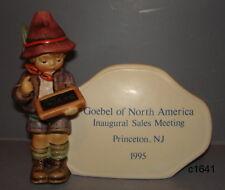 M I Hummel Goebel North America LE Sales Plaque
