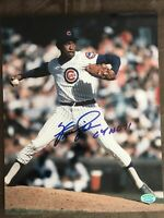 Fergie Jenkins Autograph 8x10 Signed Photo w/ COA Inscribed, Chicago Cubs, HOF