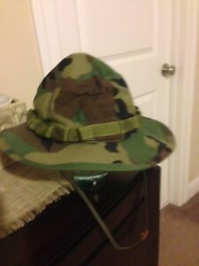 NWOT Sun Protection Bucket Hat Camouflage  size 71/4