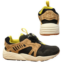 Puma Trinomic Leather Disc Cage Lux Opt 2 Mens Trainers Low Top 356410 03 X5B