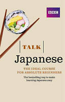 TALK  JAPANESE FOR BEGINNERS BOOK/ CD  AUDIO COURSE BRAND NEW SEALED