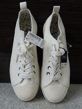 White Next Pumps/Shoes, UK 8, EU 42, Ladies Lace Up Flat Sneakers