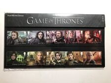 2018 Royal Mail Libretto Folder Pack Booklet Il Trono di Spade Game of Thrones