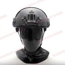 BK LVL IIIA Ballistic KEVLAR Aramid Fiber Maritime Helmet L/XL