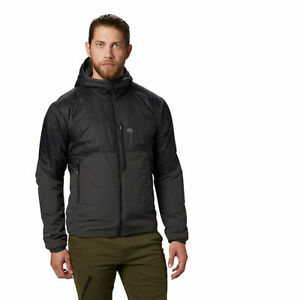 *Mountain Hardwear Men's Compressor Hoody Medium Black NWT