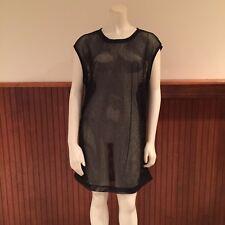 Kate Spade Saturday Black Mesh Dress - Size: XS