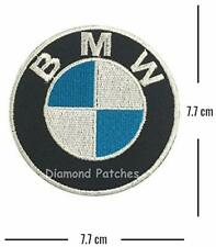 BMW Logo Racing Biker Car Embroidered Iron on Patch Badge Motor Sports
