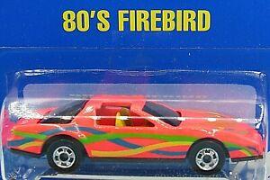 HOT WHEELS VHTF BLUE CARD SERIES SERIES 80's FIREBIRD #256