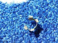 FOR GRANADA MK1 CORTINA MK3  REAR BACKPLATE HANDBRAKE CABLE RETAINING CLIPS X 2