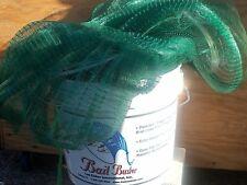 """LEE FISHER  8' RADIUS, 5/8"""" SQUARE BAIT BUSTER PREMIUM CAST NET 6 PANEL"""