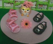 lot paires de chaussures bébé fille 3/6 mois,ballerines HELLO,sandale de plage
