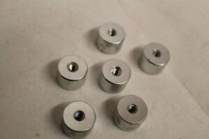 "Archery Mid Weight Aluminium about 12gr 1/4"" Thread Compatible Qty 6"