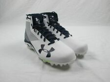 New Under Armour - White/Navy Cleats (Men's 13)