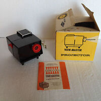 Vintage Sawyers View-Master Standard Projector 2421, in Box! Made of Bakelite!!