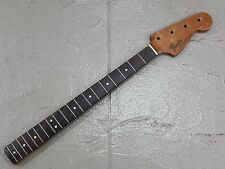 VINTAGE 1975 USA FENDER MUSICMASTER BASS GUITAR NECK ROSEWOOD FINGERBOARD
